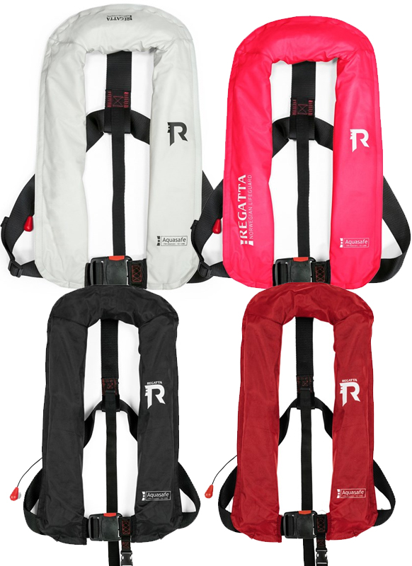 Regatta Aquasafe Oppblåsbar vest, Sort