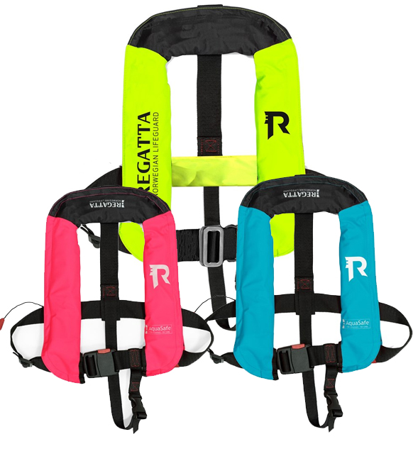 Regatta Aquasafe Junior Oppblåsbar vest (18-40kg)