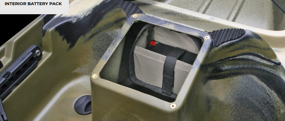 Battery Tote, Interior Mesh Sack