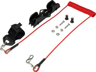 Sealect Paddle Clip & Premium Leash Kit