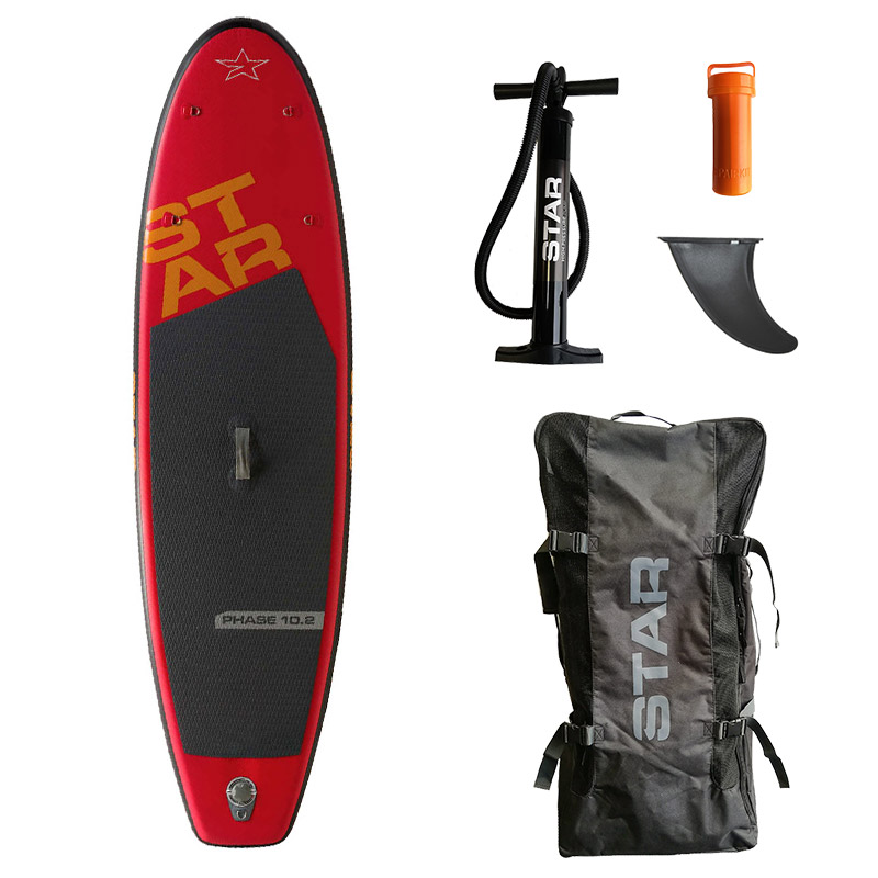 SUP Star Phase 10,2 - m/bag, finne og pumpe