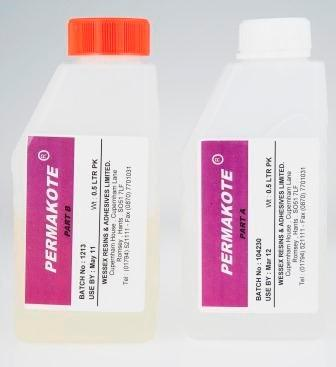 Permakote 0,5L (Resin 250ml, Herder 250ml)
