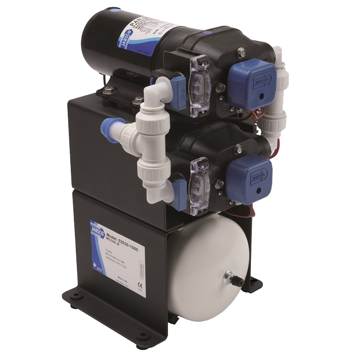 Jabsco double stack water system