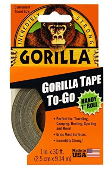 Gorilla Tape – Handy roll, 9 m x 25 mm.