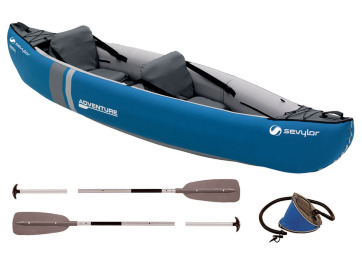 Sevylor Adventure Kit – Kanopakke m/2 stk. årer