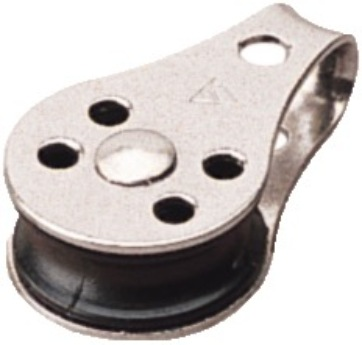 "Pulley 1/4"" Stainless"