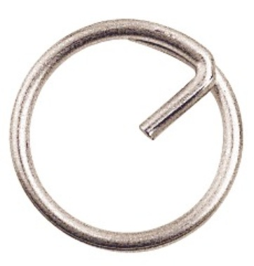 "SPLIT RING 5/8"" 316 STAINLESS WIRE"