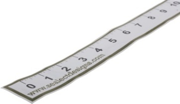 Fishing Ruler Sticker