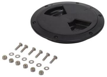 "Sealect Deck Plate 6"" Quarter Turn W/Collar Kit"