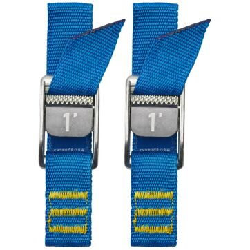 "NRS 1"" Loop Strap Pair Iconic Blue (1,8 m)"