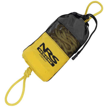 NRS Compact Rescue Throw Bag 70' Yellow