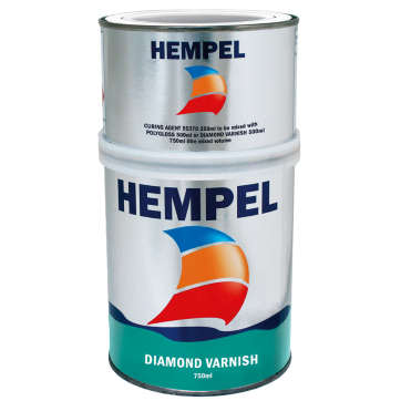 Polyuretan lakk Diamond Varnish 0,75 l - Hempel