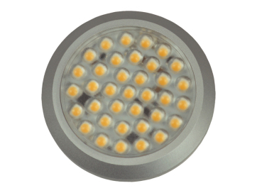 LED downlight 10-30V varmhvit