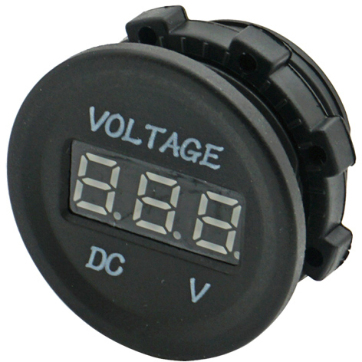 Digital voltmeter,  6-30V