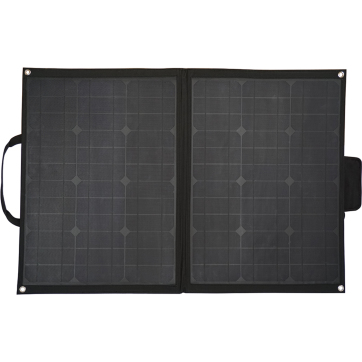 Solcellepanel sammenleggbart m/regulator