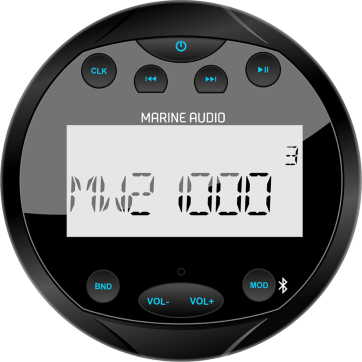 Marine audio stereo Bluetooth