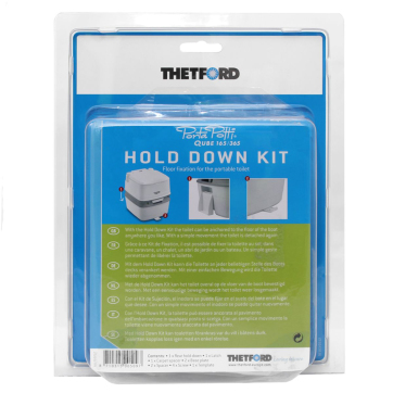 Hold Down Kit - Gulvfeste Porta Potti Qube